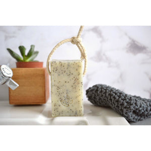 Soap Daze - Ginger and Mandarin Extra Large Soap On A Rope