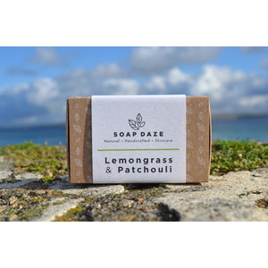 Soap Daze Lemongrass and Patchouli Large Soap