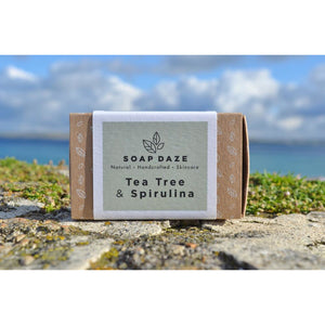 Soap Daze - Tea Tree and Spirulina Large Soap