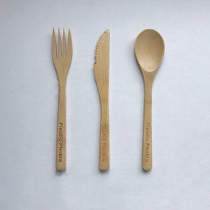 Bamboo Reusable Cutlery