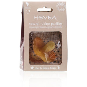Hevea Pacifier Star and Moon 0-3