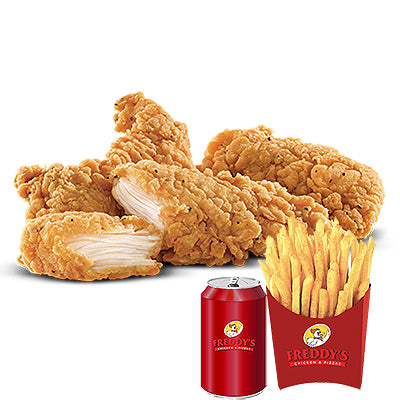 3 Chicken Strips Meal