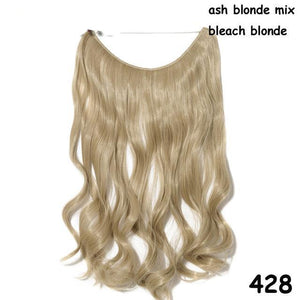 aschblond Mixton (welliges Haar)