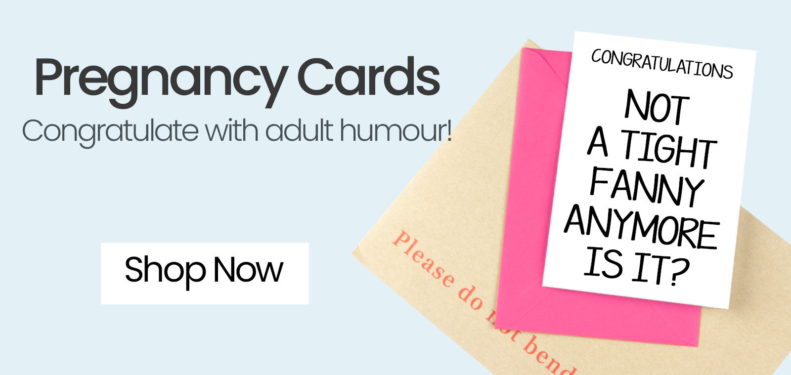 Rude Pregnancy Greeting Cards