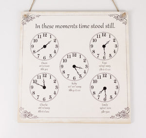Large Family In These Moments Plaque
