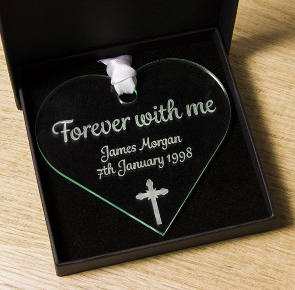 Forever with me - Remembrance heart