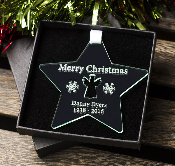 Remembrance Star Christmas Gift