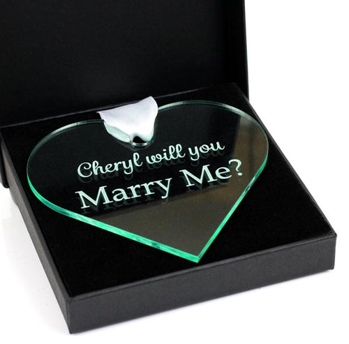 Will you marry me? keepsake gift