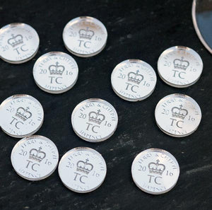 X50 Lucky Sixpence coin Wedding Favour