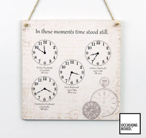 Antique Style In These Moments Plaque