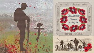 Remembrance Cross Stitch