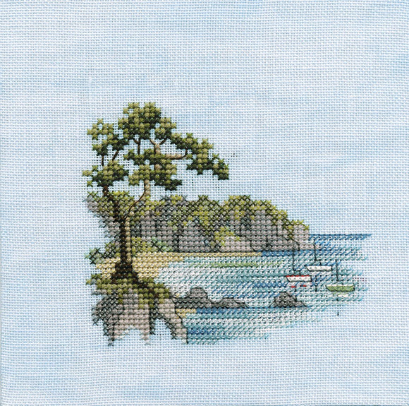 Headland Cross Stitch Kit by Derwentwater Designs