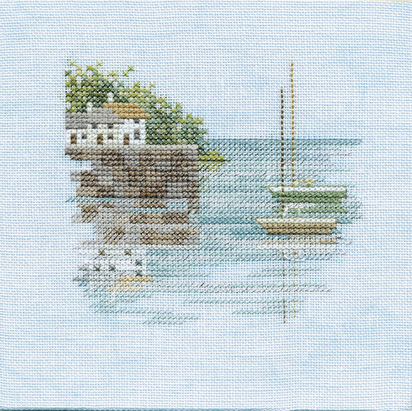 Quayside Cross Stitch Kit by Derwentwater Designs