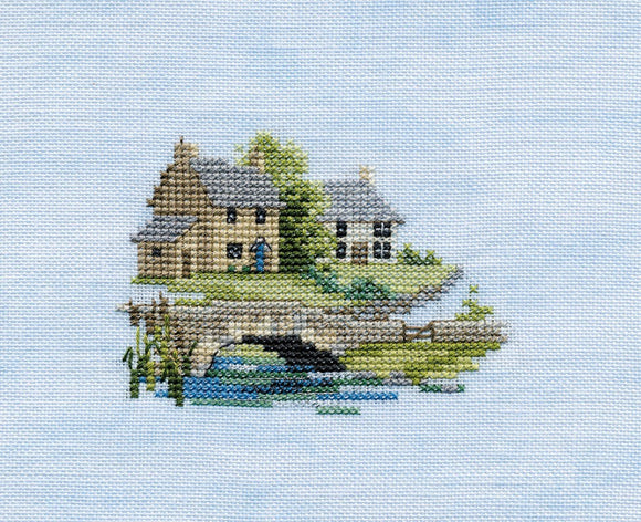 Brookside Cross Stitch Kit by Derwentwater Designs