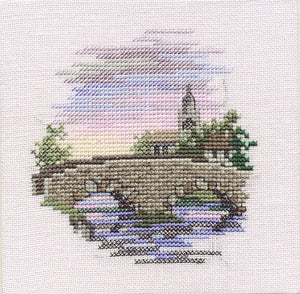 Bridge Cross Stitch Kit by Derwentwater Designs