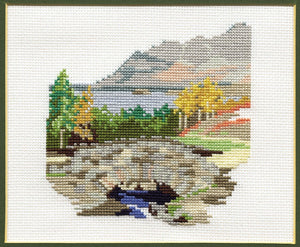 Ashness Bridge Cross Stitch Kit by Derwentwater Designs