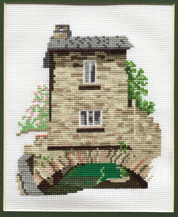 Bridge House Ambleside Cross Stitch Kit by Derwentwater Designs