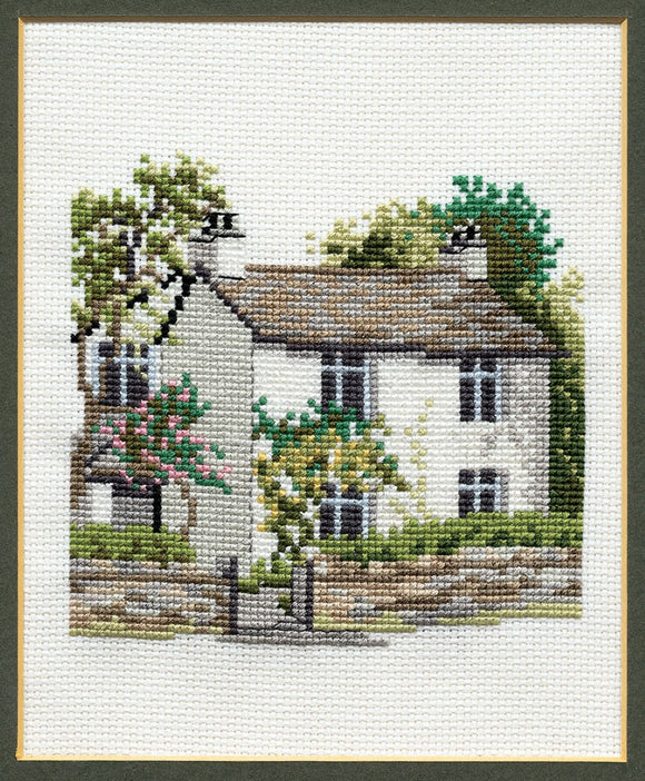 Dove Cottage Cross Stitch Kit by Derwentwater Designs