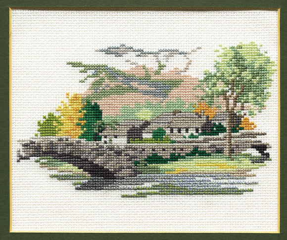 Grange in Borrowdale Cross Stitch Kit by Derwentwater Designs