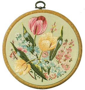 Tulips Embroidery Kit by Design Perfection