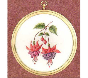 Fuchsia Embroidery Kit by Design Perfection
