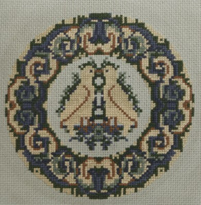 Doves Cross Stitch Chart by September Cottage Crafts