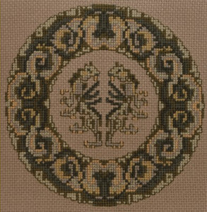 Lions Cross Stitch Chart by September Cottage Crafts