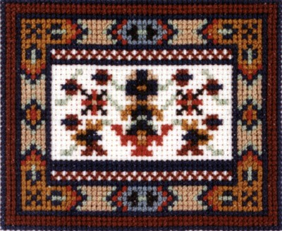 Baktyar Cross Stitch Chart by September Cottage Crafts