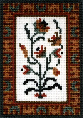 Moghul Cross Stitch Chart by September Cottage Crafts