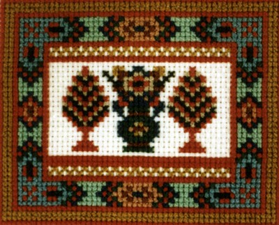 Bibia Cross Stitch Chart by September Cottage Crafts