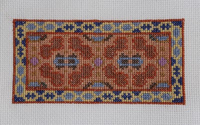Kirghiz Cross Stitch Chart by Rainy Day Designs