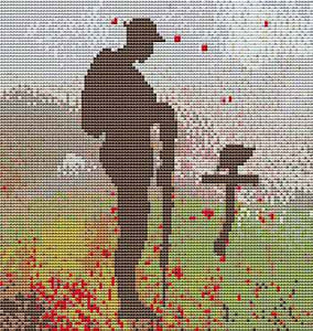 Lest We Forget Cross Stitch Kit by September Cottage Crafts