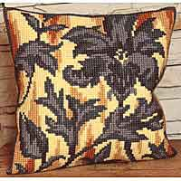 Silhouette Printed Cross Stitch Cushion Kit by Collection D'Art..