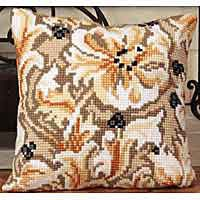 Chatelaine Cross Stitch Cushion Kit by Collection D'Art..
