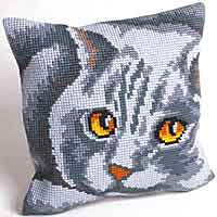 Persian Printed Cross Stitch Cushion Kit by Collection D'Art