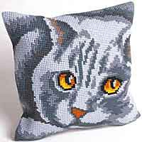 Persian Cross Stitch Cushion Kit by Collection D'Art