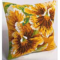 Autumn Cross Stitch Cushion Kit by Collection D'Art