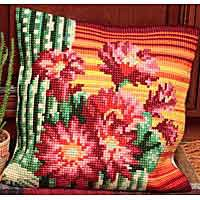 Bishops Hat Cross Stitch Cushion Kit by Collection D'Art