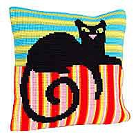 Mr Handsome Cross Stitch Cushion Kit by Collection D'Art.