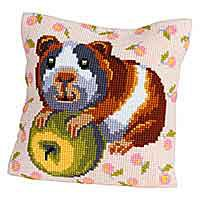 Hungry Harry Cross Stitch Cushion Kit by Collection D'Art.