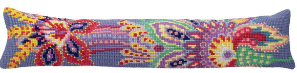 Serenity Cross Stitch Draught Excluder Cushion Kit by Collection D'Art.