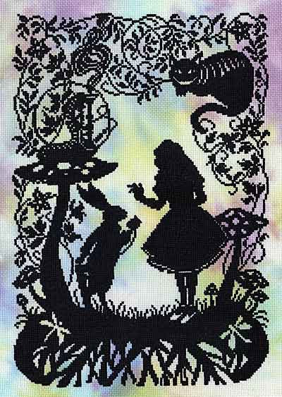 Alice in Wonderland Cross Stitch Kit By Bothy Threads