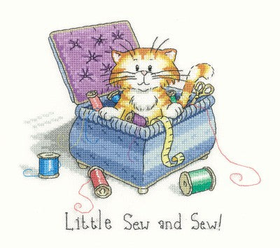 Little Sew and Sew Cross Stitch Kit by Heritage Crafts