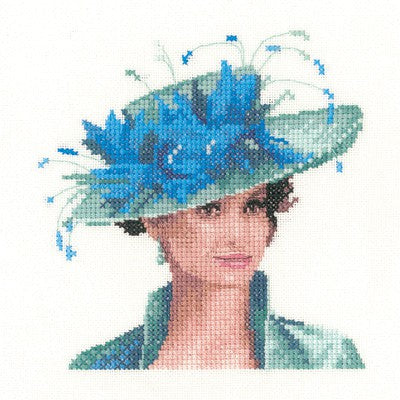 Josephine Cross Stitch Kit by Heritage Crafts (miniature)