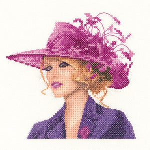 Sarah Cross Stitch Kit by Heritage Crafts (miniature)