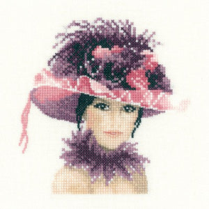 Sophia Cross Stitch Kit by Heritage Crafts (miniature)