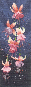 Fuchsia Panel Cross Stitch Kit by Heritage Crafts