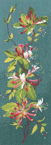 Honeysuckle Panel Cross Stitch Kit by Heritage Crafts