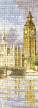 Big Ben Cross Stitch Kit by Heritage Crafts
