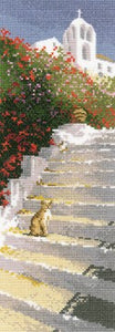 Greek Steps Cross Stitch Kit by Heritage Crafts
